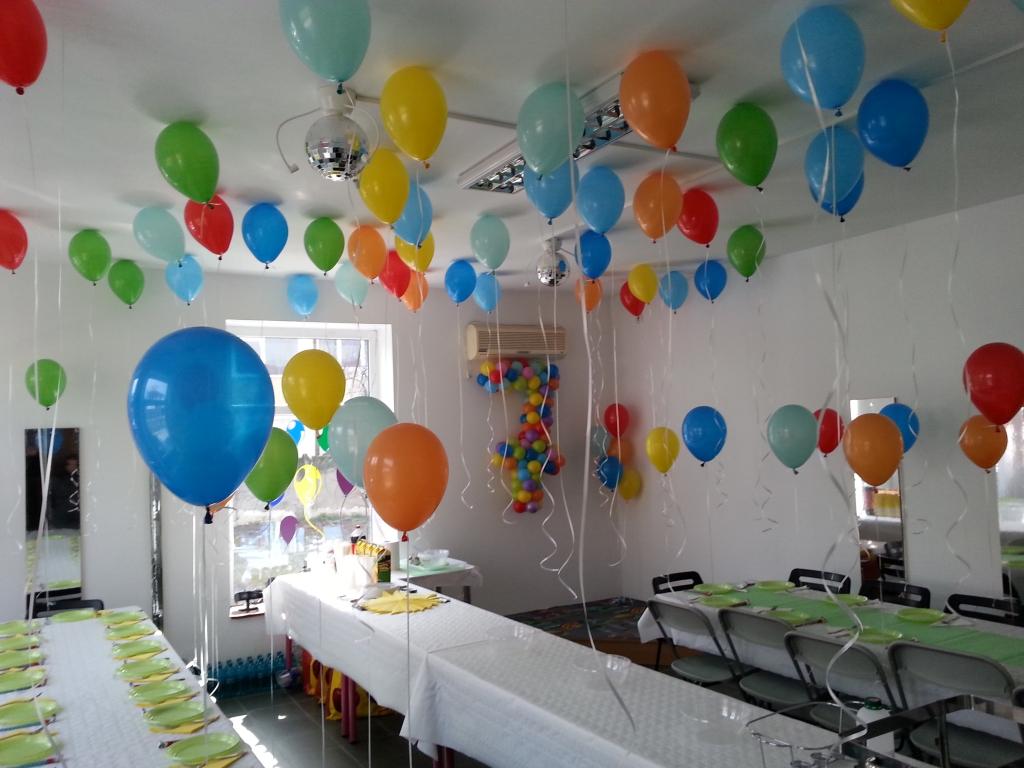 Baloane cu heliu colorate