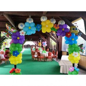 arcada baloane cu flori