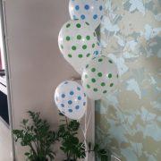 Baloane heliu cu buline