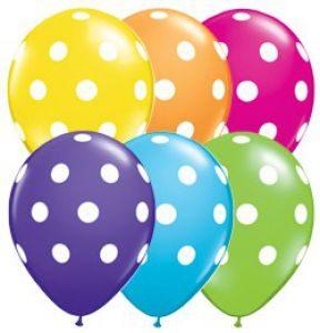 Baloane cu heliu cu buline