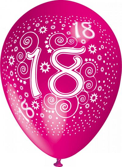 baloane cu heliu cu cifre poza 18