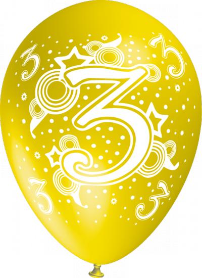 baloane cu heliu cu cifre poza 3
