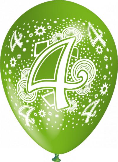 baloane cu heliu cu cifre poza 4