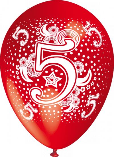 baloane cu heliu cu cifre poza 5