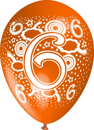 baloane cu heliu cu cifre poza 6