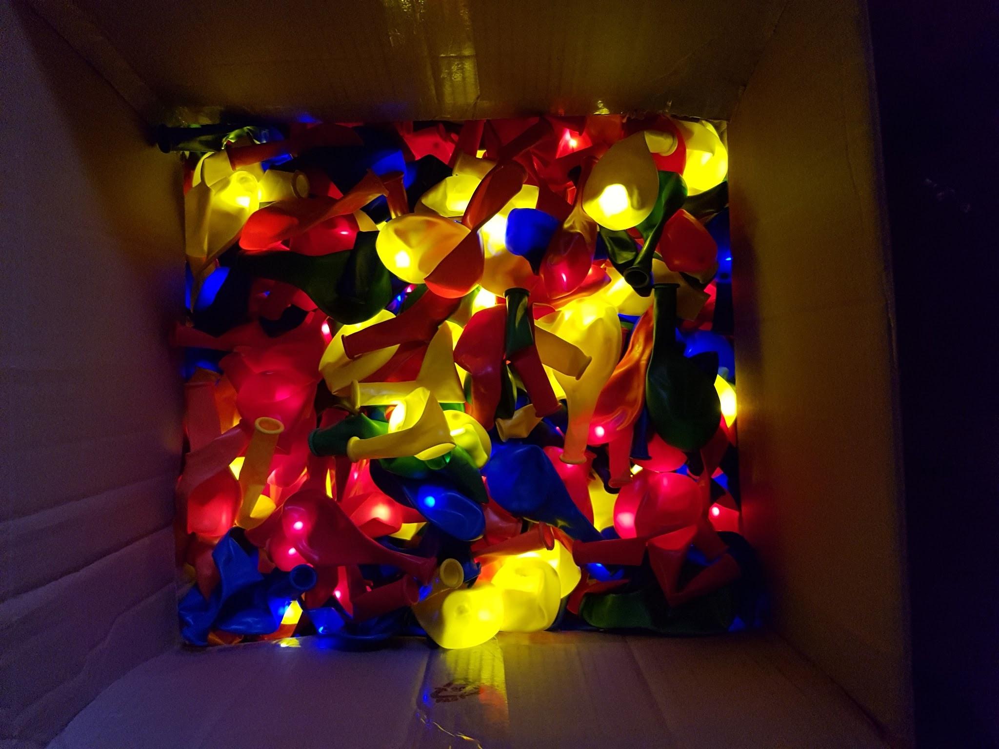 baloane cu heliu cu led-uri