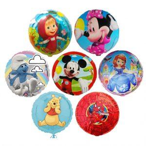 baloane folie cu desene animate
