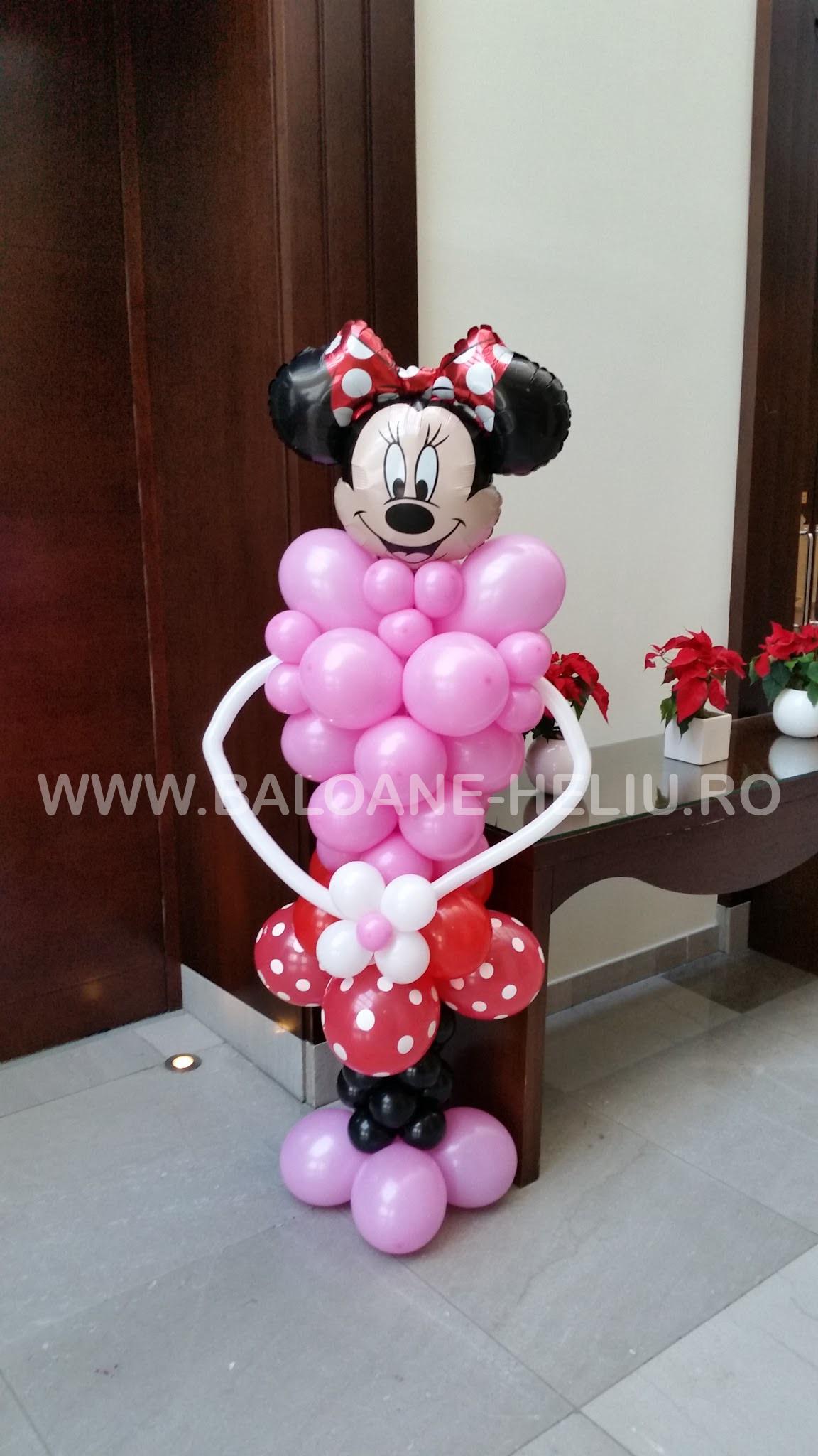 Pachet baloane Minnie Mouse