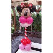 Figurina Minnie din baloane