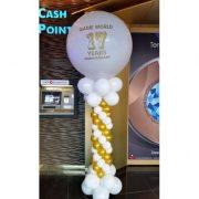 Stalp baloane cu jumbo