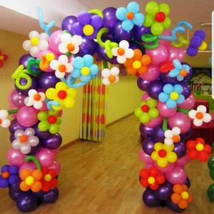 balone colorate arcada