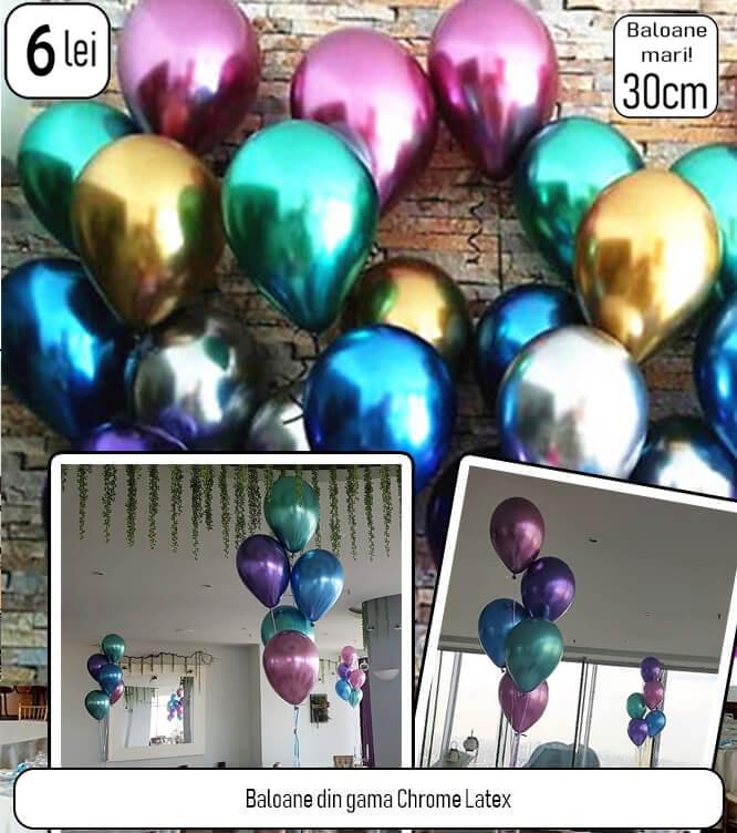 Baloane chrome
