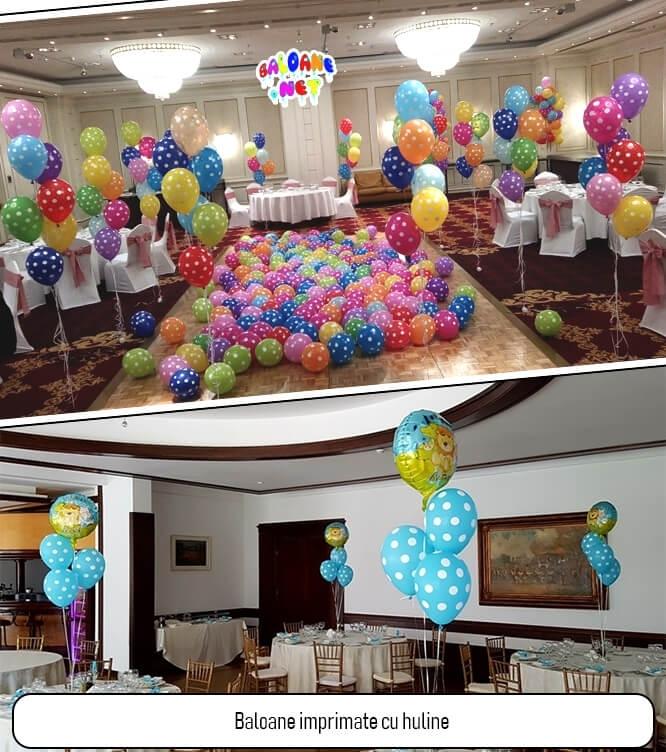 Baloane imprimate cu buline