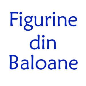 Figurine din baloane Botez