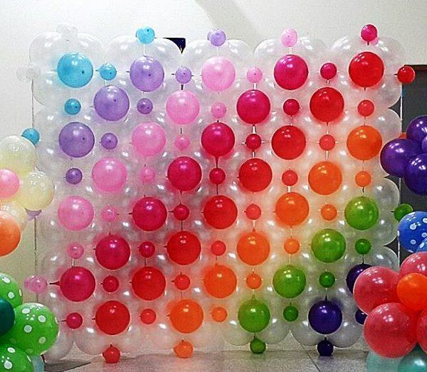 Panou baloane transparente