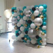 Perete baloane botez