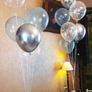 Baloane Print Stelute Albe1