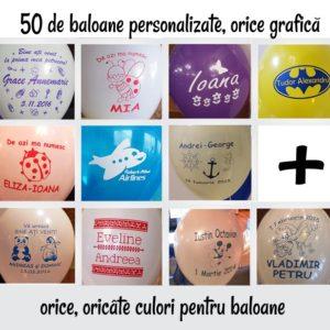 Pachet baloane personalizate