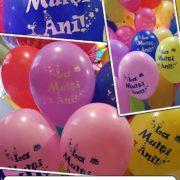 "baloane cu print ""La Multi Ani"""