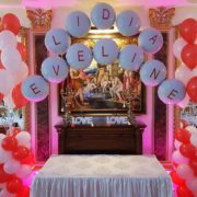 Arcada baloane botez