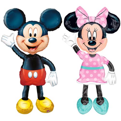 Baloane Mickey si Minnie
