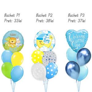 Buchete baloane botez