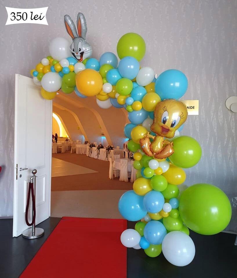 Ghirlanda baloane intrare