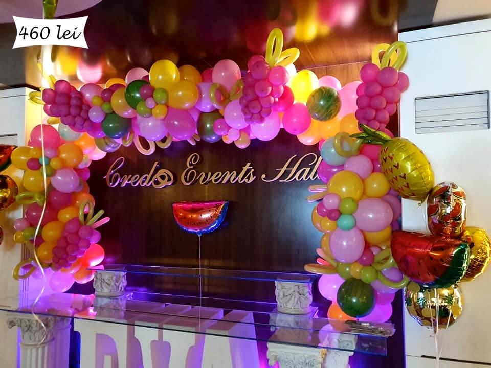 ghirlanda baloane candy bar