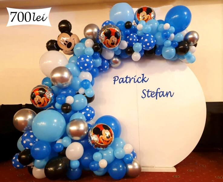 Panou baloane tematica Mickey