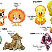 Draculaura-Tweety-lionKing-tigru-leu