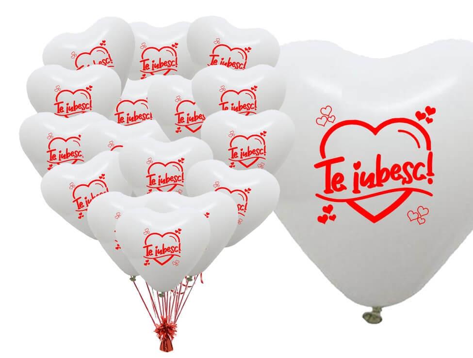 Baloane inima cu heliu